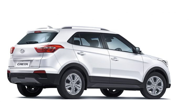 Hyundai Creta Rear Angle