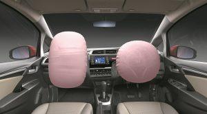 Honda Jazz_Front Dashboard Shot_(With Airbag)_V1