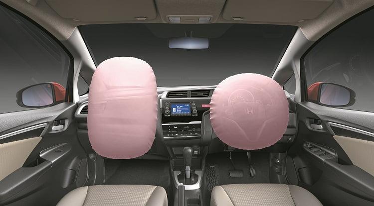 Honda Jazz Front Dashboard Shot With Airbag V1