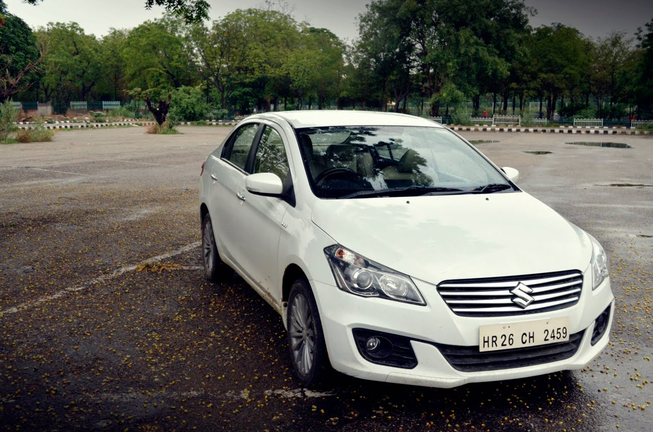 Maruti Ciaz Petrol And Diesel Hybrid Review Test Drive Video
