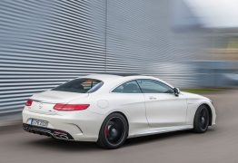 Mercedes S 63 AMG Coupe India 2