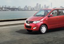 New Chevrolet Enjoy red