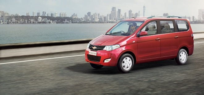 New Model Chevrolet Enjoy MPV Launched at INR 6.34 lakhs