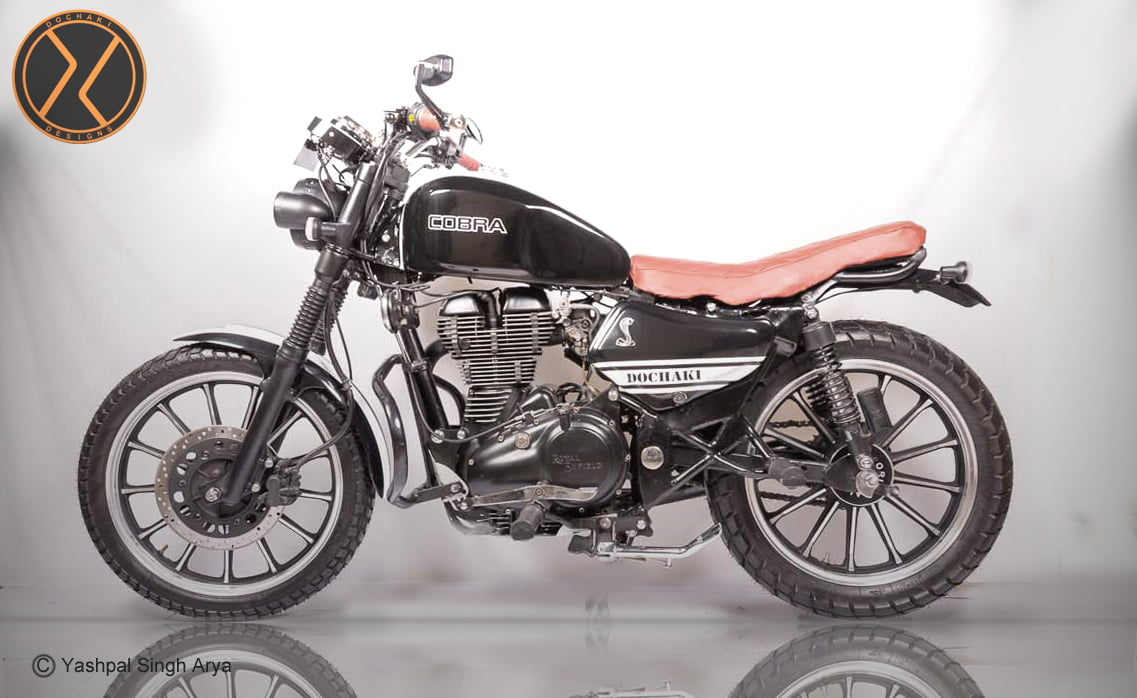 Check Out This Modified Royal Enfield Scrambler 'Cobra' by ...