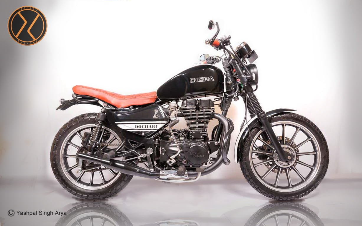 Check Out This Modified Royal Enfield Scrambler 'Cobra' by ...