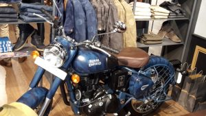 Royal Enfield despatch limited squadron blue