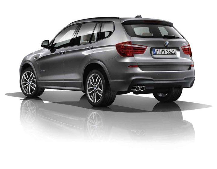 The new BMW X3 xDrive 30d M Sport