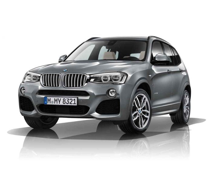 The new BMW X3 xDrive 30d M Sport
