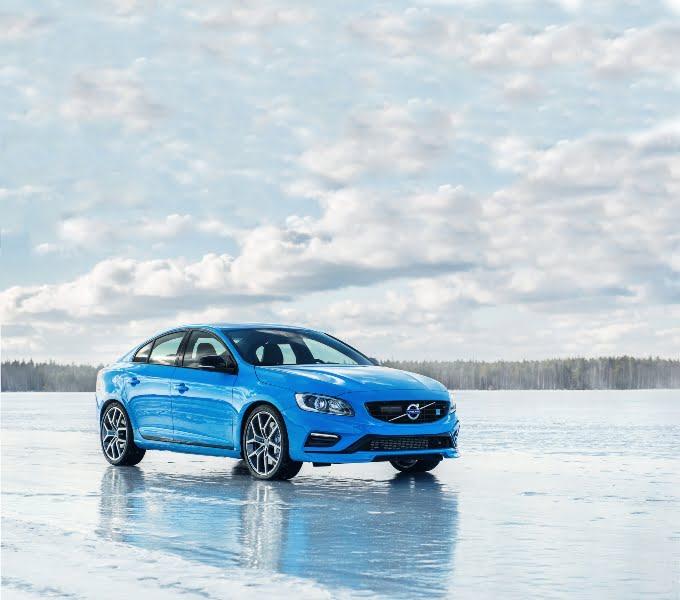 Vovlo S60 Blue - Front