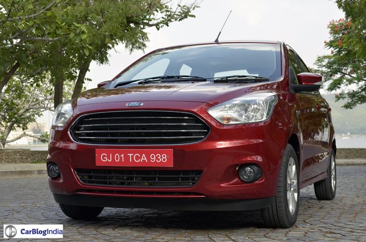 ford aspire price in india, images-front angle photo