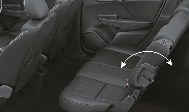 Honda Jazz Rear Reclining Seat 01 Carblogindia