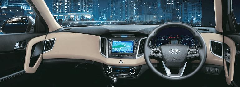 Hyundai Creta Dashboard Carblogindia