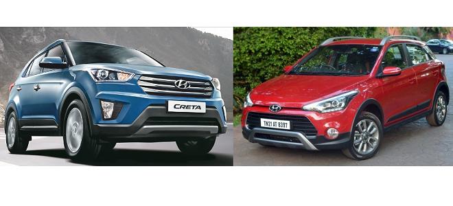Hyundai Creta vs Hyundai i20 Active