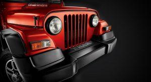 mahindra-thar-facelift-front-close-red