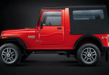 mahindra-thar-facelift-side-red