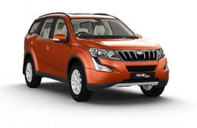 mahindra-xuv500-orange-front angle
