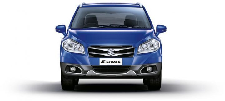 maruti-s-cross-blue-front