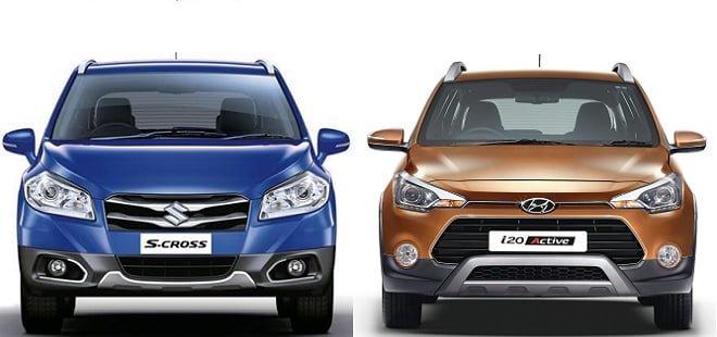 Maruti S-Cross vs Hyundai i20 Active