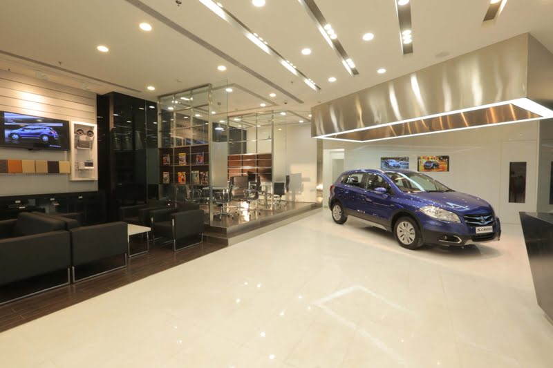 Used Cars Dealerships >> Maruti Suzuki Nexa Showroom