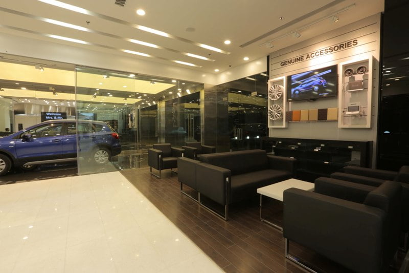 Suzuki Car Dealership >> Maruti Suzuki Nexa Showroom