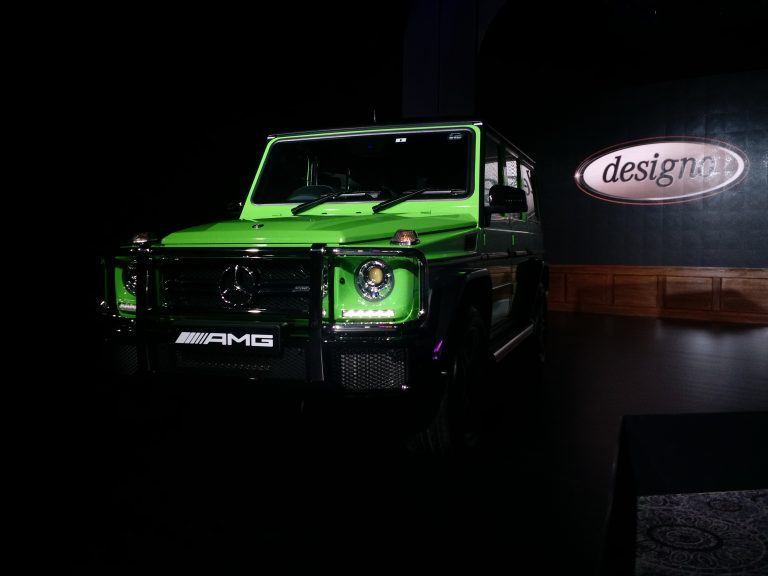 Mercedes G63 AMG Crazy Colour Launched at INR 2.17 Cr.