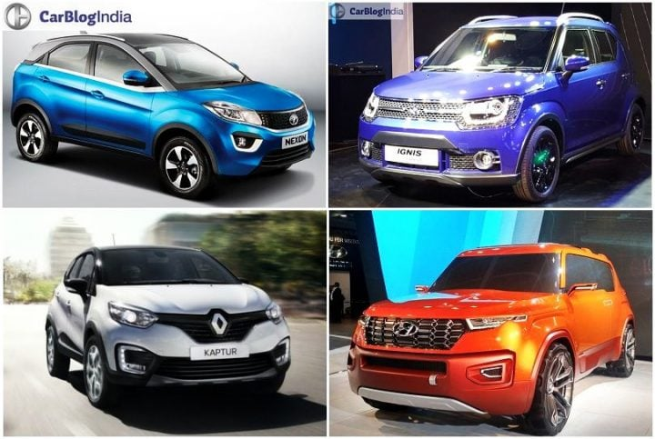 upcoming suvs in india under 10 lakhs