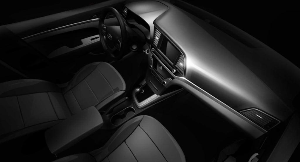 2016 Hyundai Elantra Interior Dashboard Image