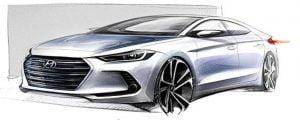 2016-Hyundai-Elantra-front-three-quarter-right-teaser-image