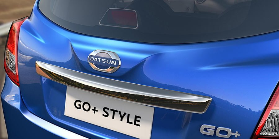 Datsun Go Style Limited Edition Images-Rear