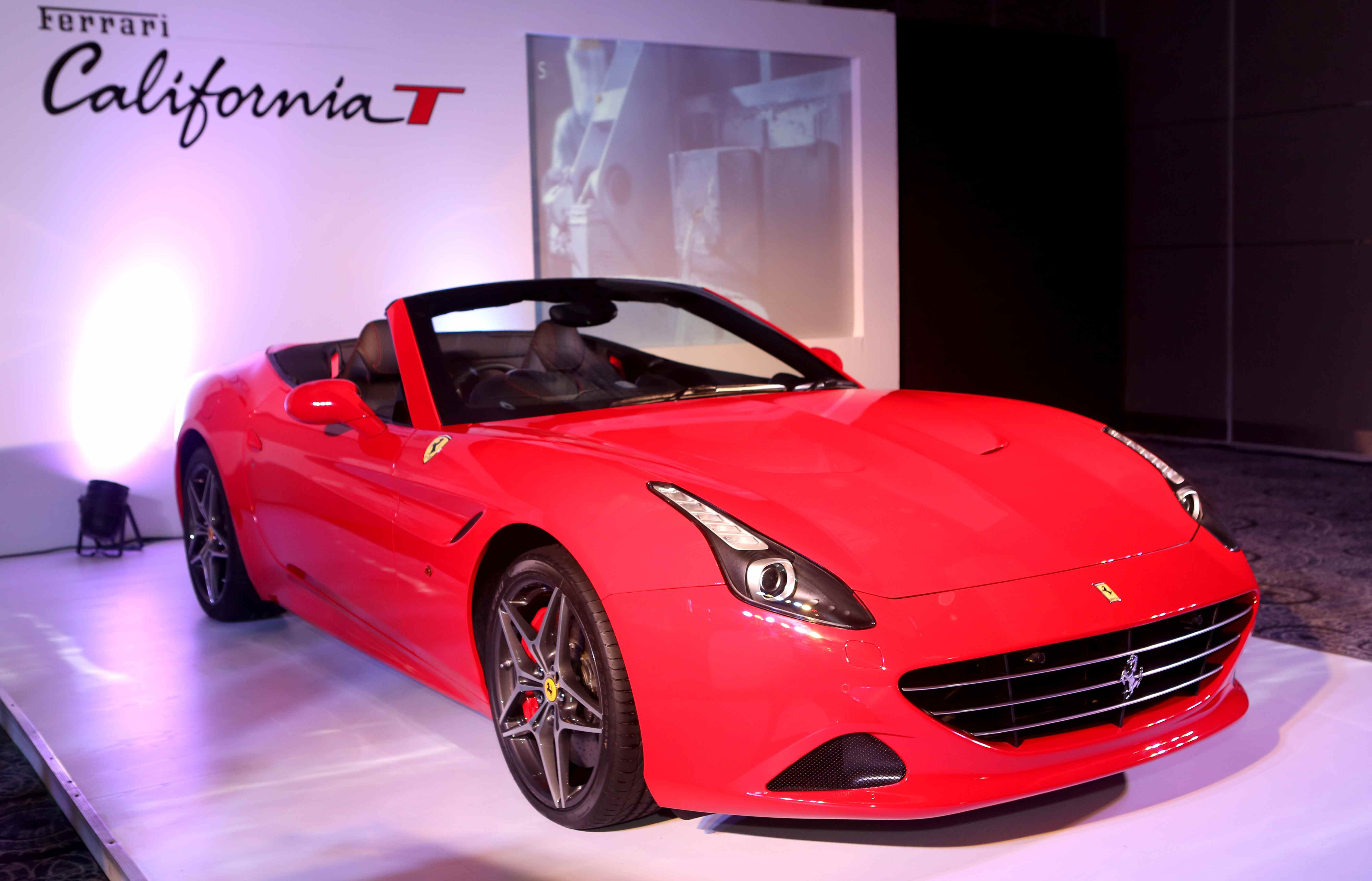 Ferrari Re-Launched in India  California T Priced at INR 3.45 Cr 1143d0722a14