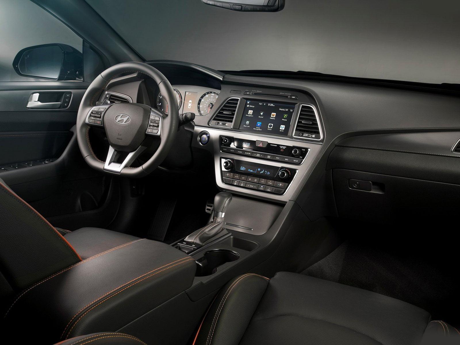 Hyundai sonata 2015 interior carblogindia - 2015 hyundai sonata interior pictures ...
