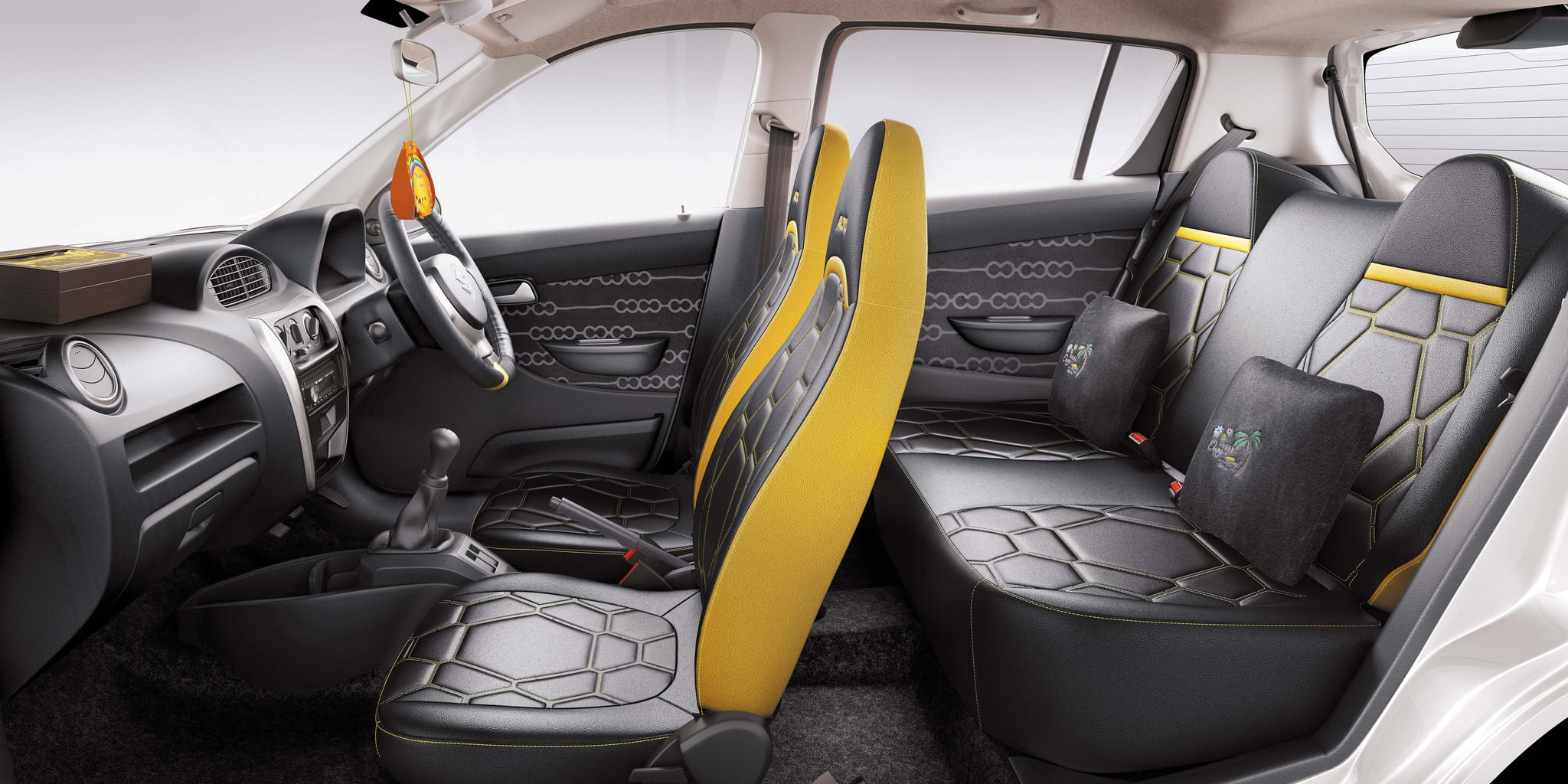 Maruti suzuki alto 800 onam limited edition offer features for Interior decoration of maruti 800