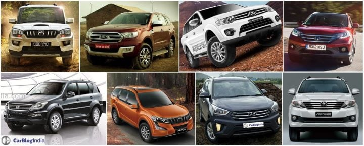 best automatic suv in india under 25 lakhs with price, specs and images