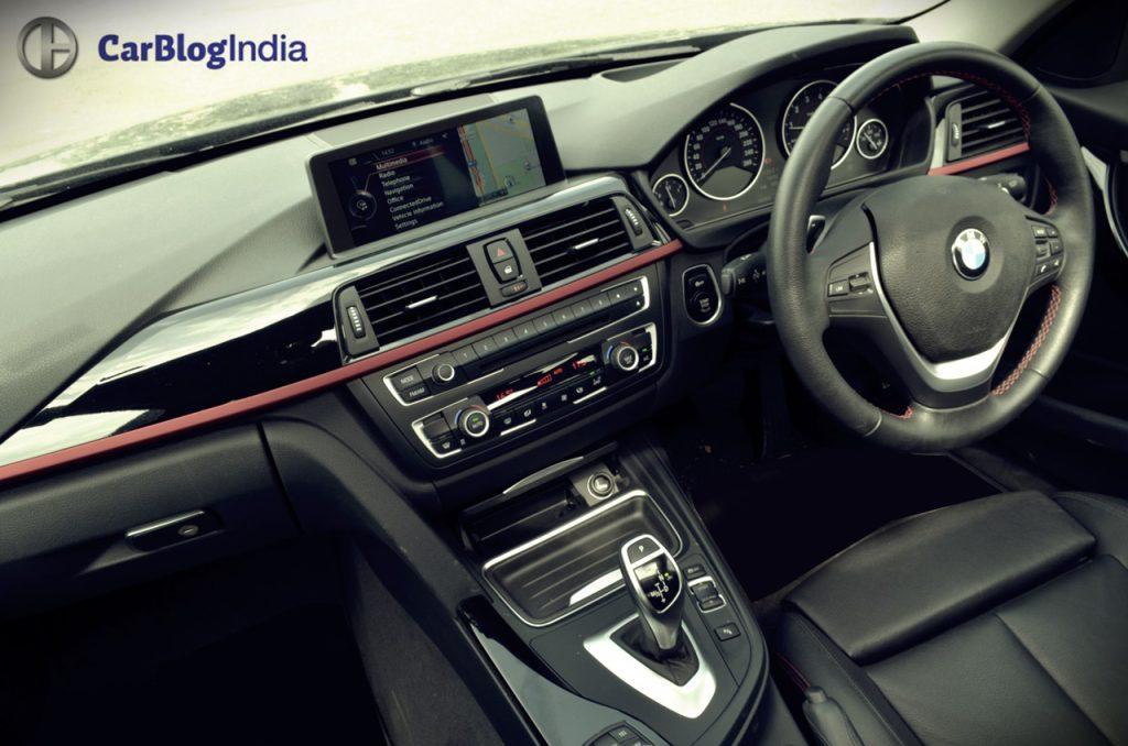 bmw 328i sport interior dashboard black review pics 1 carblogindia. Black Bedroom Furniture Sets. Home Design Ideas