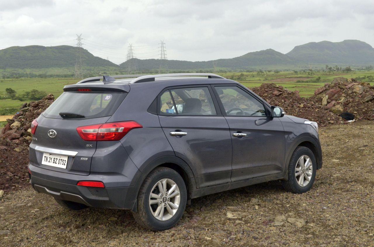 Hyundai Creta Review Red Pics054 Carblogindia