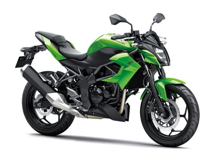kawasaki-Z250sl-india-front-angle-green