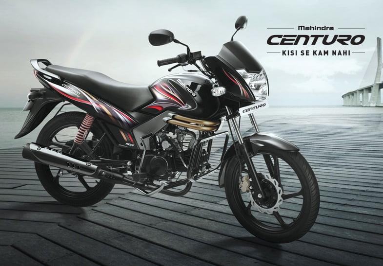 best 100cc bike in india mahindra-centuro