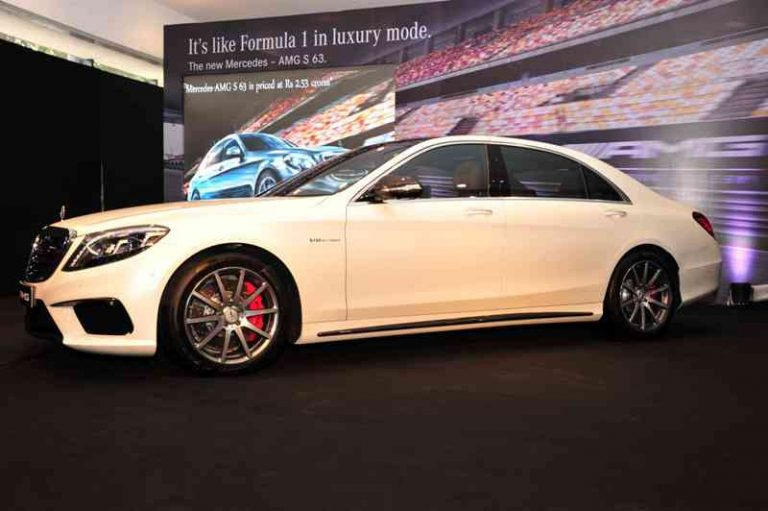 Mercedes S63 AMG Sedan India Launched at INR 2.53 Crore [Pictures & Details]