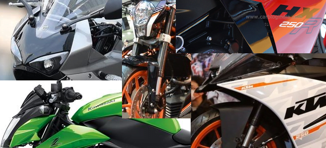 Upcoming 250cc Bikes in India 2015 – 16