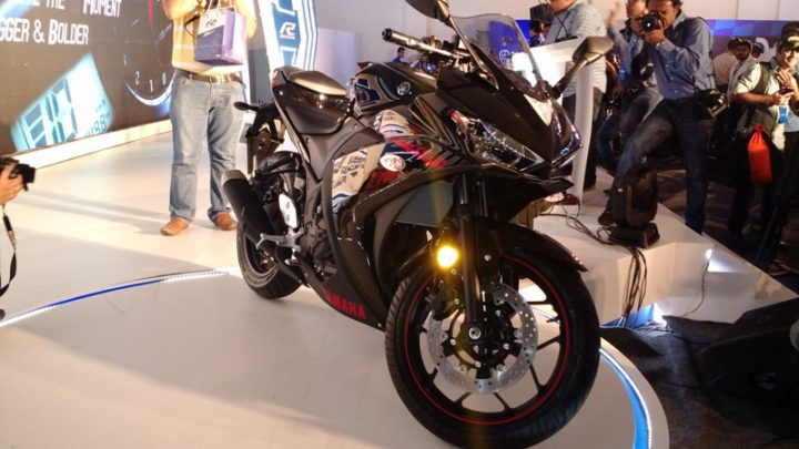 Bikes at Auto Expo 2018 - Yamaha YZF-R3