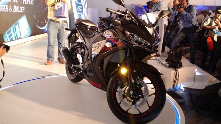 Bikes at Auto Expo 2018 - Yamaha YZF-R3