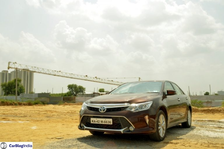 Toyota Camry Hybrid Price Reduced by INR 2.30 Lakhs