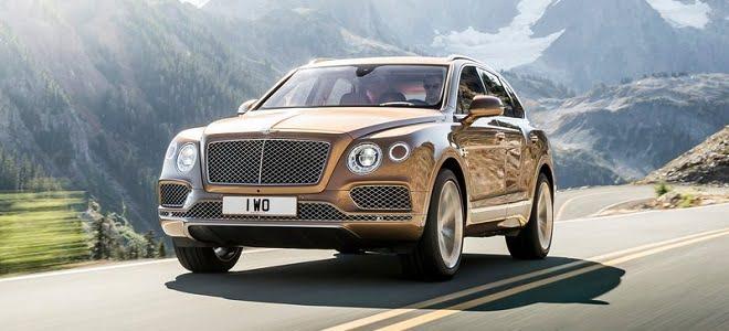 Bentley Bentayga SUV Unveiled
