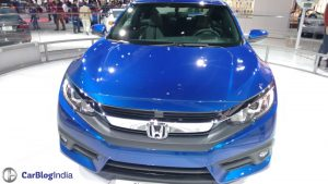 2016-honda-civic-coupe-la-auto-show-blue-front