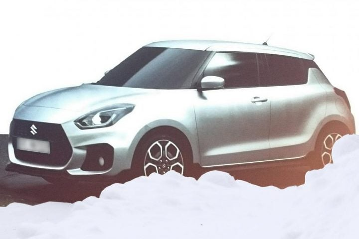 New Model Maruti Swift 2017front-three-quarter-leaks