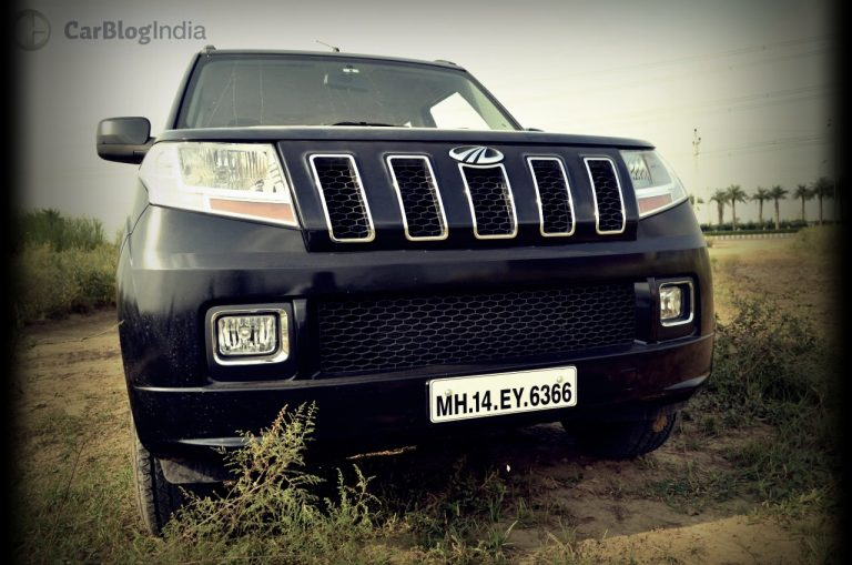 Mahindra TUV300 Test Drive Review – Brute Ute