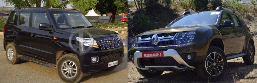 mahindra tuv300 vs renault duster