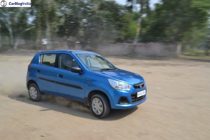Renault Kwid 1000cc vs Alto K10 vs Eon comparison maruti-alto-k10-amt-review-pics-action