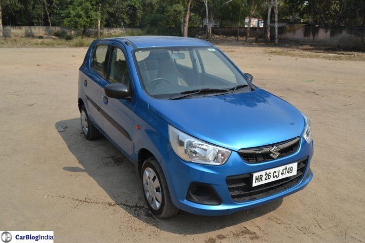 Best CNG Cars in India 2017 - Maruti Suzuki Alto K10