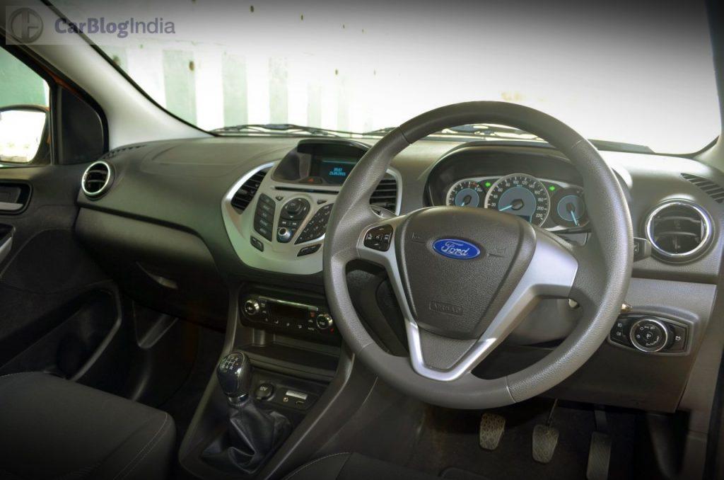 ford figo cross launch-dashboard-pics